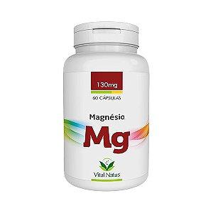 Magnésio Quelato 130mg 60 Cápsulas VITAL NATUS