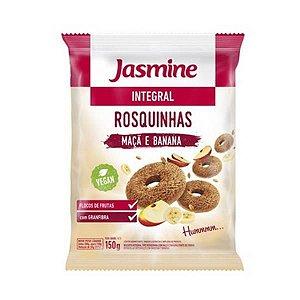 Rosquinhas Integrais Maçã e Banana JASMINE 150g