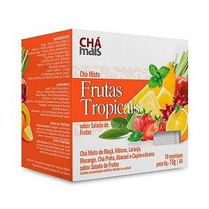 Chá de Frutas Tropicais CHÁ MAIS 10 Sachês