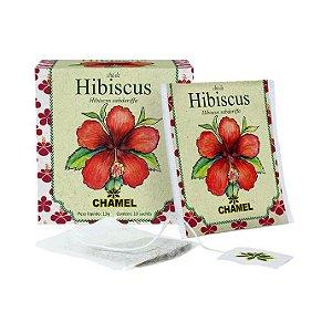 Chá de Hibiscus em Sachê CHAMEL 10 Unidades