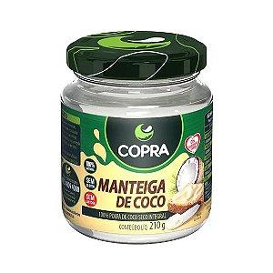 Manteiga de Coco COPRA Vegana 210g
