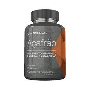 Açafrão com Vitaminas MEDIERVAS 500mg 60 Cápsulas