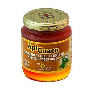 ApiGuaco Composto de Mel Extrato de Própolis e Guaco APIS FLORA 300g