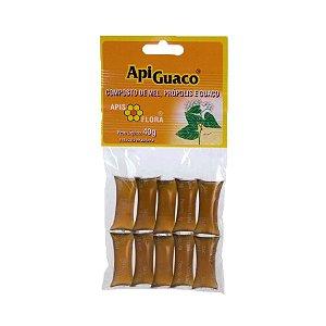 ApiGuaco Mel com Própolis e Guaco APIS FLORA 10 Sachês 40g