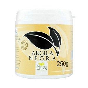 Argila Preta em Pó (Limpeza Profunda) DERMACLEAN 250g