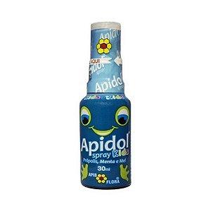 Apidol Spray de Própolis Mel e Menta APIS FLORA 30ml