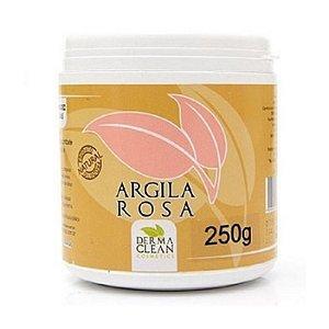Argila Rosa em Pó (Esfoliante Suave e Renovador Celular) DERMACLEAN 250g