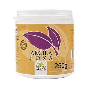 Argila Roxa em Pó (Tonificante e Esfoliante) DERMACLEAN 250g