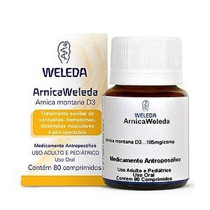 Arnica Montana D3 WELEDA (Contusões Hematomas e Pós-operatório) 80 Comprimidos