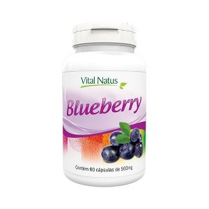Blueberry VITAL NATUS 500mg 60 Cápsulas
