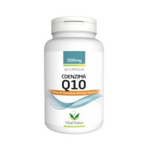 Coenzima Q10 VITAL NATUS 500mg 60 Cápsulas