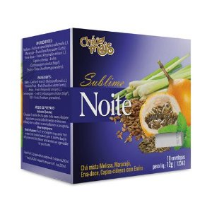 Chá Sublime Noite CHÁ MAIS 10 Sachês