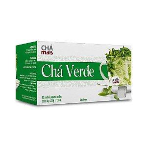 Chá Verde CHÁ MAIS 30 Sachês