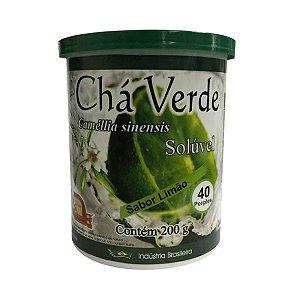 Chá Verde Solúvel MOSTEIRO DEVAKAN Sabor Limão 200g