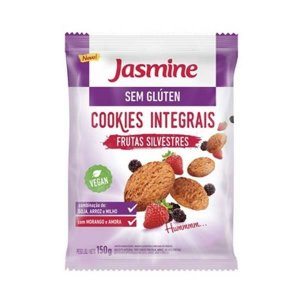 Cookies Integrais de Frutas Silvestres JASMINE sem Glúten 150g