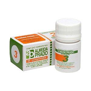 Complexo Homeopático Nº 3 ALMEIDA PRADO 60 Comprimidos