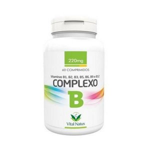 Complexo B  VITAL NATUS 220mg 60 Comprimidos