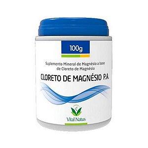 Cloreto de Magnésio P.A. em Pó VITAL NATUS 100g