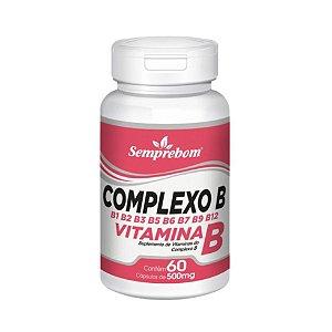 Complexo B SEMPREBOM 500mg 60 Cápsulas