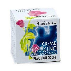 Creme de Colágeno para Rosto Vitalab (Vita Plankta) 50g