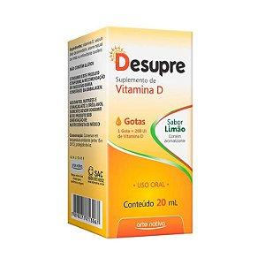 Desupre Vitamina D Gotas ARTE NATIVA Sabor Limão 20ml