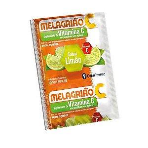 Pastilhas Melagrião CATARINENSE Sem Açucar Sabor Limão 5 Unidades