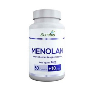 Menolan Amora e Gérmen de Soja c/  70 Cápsulas - BIONATUS