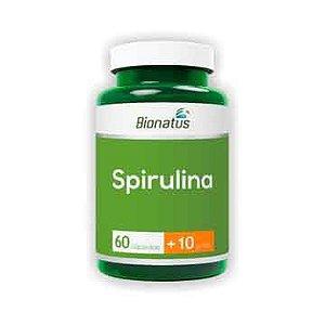 Spirulina BIONATUS 380mg 60 Cápsulas