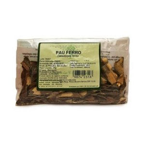 Pau Ferro (Caesalpinea ferrea) Casca NUTRI ERVAS 50g