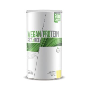 Vegan Protein Pea & Rice CHÁ MAIS Sabor Baunilha 450g
