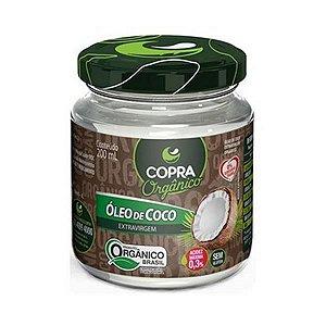 Óleo de Coco Extravirgem COPRA Orgânico 200ml