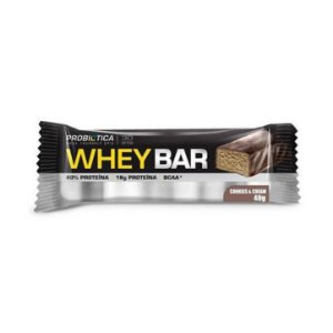 Whey Bar PROBIÓTICA Sabor Cookies & Cream 40g