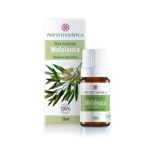 Óleo Essencial de Melaleuca (Melaleuca alternifolia) FHYTOTERÁPICA 10ml