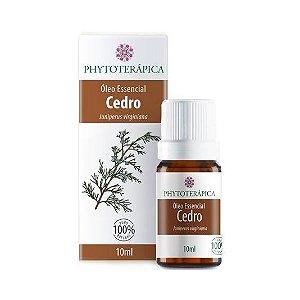 Óleo Essencial de Cedro (Juniperus virginiana) PHYTOTERÁPICA 10ml