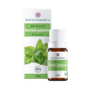 Óleo Essencial de Hortelã-Pimenta (Mentha piperita) PHYTOTERÁPICA 10ml