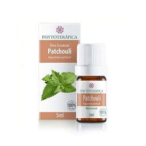 Óleo Essencial de Patchouli (Pogostemon patchouli) PHYTOTERÁPICA 5ml