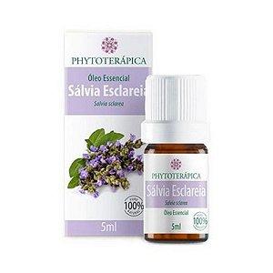 Óleo Essencial de Sálvia Esclareia (Salvia sclarea) PHYTOTERÁPICA 5ml