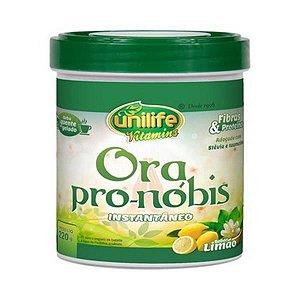 Ora Pro-Nóbis Solúvel UNILIFE Sabor Limão 220g