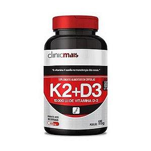 Calmais K2+D3 CHÁ MAIS (ClinicMais) 500mg 30 Cápsulas