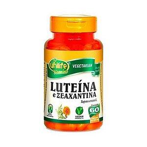 Luteína + Zeaxantina UNILIFE 400mg 60 Cápsulas Vegetais
