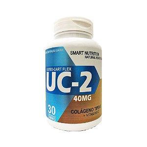 Osteo Cart Flex UC-2 (Colágeno Tipo II + Vitamina C) 4 Elementos 500mg 30 Cápsulas