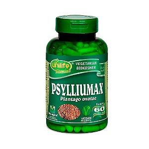 Psylliumax Psyllium (Plantago Ovatae) UNILIFE 550mg 60 Cápsulas Vegetais