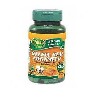 Geléia Real e Cogumelo UNILIFE 780mg 45 Cápsulas Vegetais