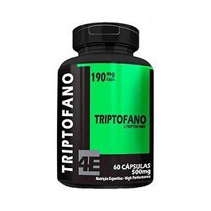 Triptofano (L-Triptofano 190mg) 4 ELEMENTOS 500mg 60 Cápsulas
