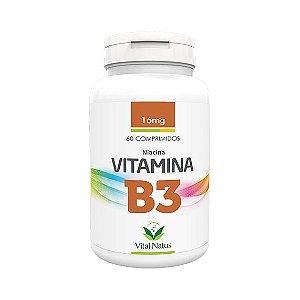 Vitamina B3 VITAL NATUS 16mg 60 Comprimidos