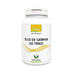 Óleo de Gérmen de Trigo VITAL NATUS 250mg 60 Cápsulas