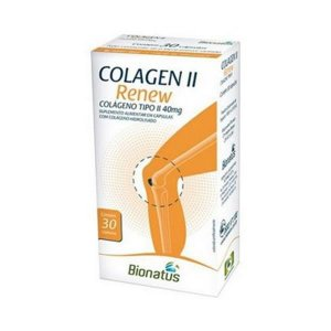 Colagen II Renew (Colágeno Tipo II) 40mg 30 Cápsulas - BIONATUS