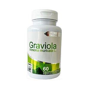 Graviola (Annona muricata) 4 ELEMENTOS 500mg 60 Cápsulas