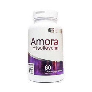 Amora + Isoflavona 4 ELEMENTOS 500mg 60 Cápsulas