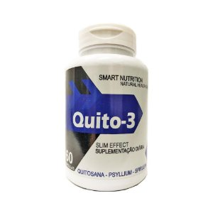 Quito-3 (Quitosana + Psyllium + Spirulina) 4 ELEMENTOS 500mg 60 Cápsulas